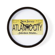 Atlantic City NJ Tag Giftware Wall Clock