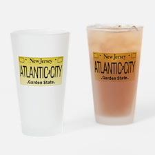 Atlantic City NJ Tag Giftware Drinking Glass