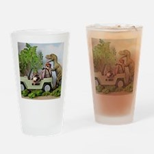 Unique Dinosaurs Drinking Glass