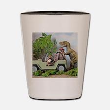Funny Dinosaurs Shot Glass