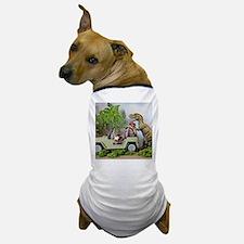 Cute Dinosaurs Dog T-Shirt