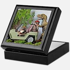 Unique Dinosaurs Keepsake Box