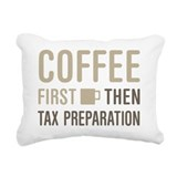 Accountant coffee Throw Pillows