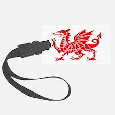 Welsh Dragon Y Ddraig Goch Luggage Tag