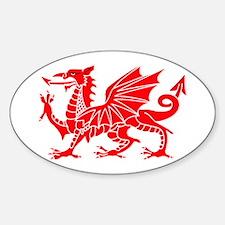 Welsh Dragon Y Ddraig Goch Decal