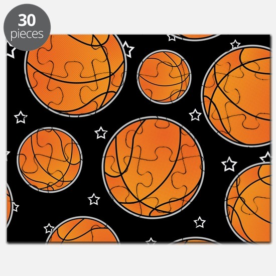 Basketball Star Pattern Puzzle