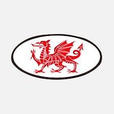 Welsh Dragon Y Ddraig Goch Patch
