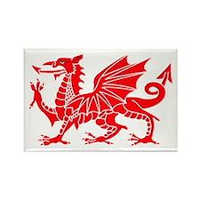 Welsh Dragon Y Ddraig Goch Magnets