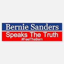 Bernie Speaks The Truth Bumper Bumper Bumper Sticker