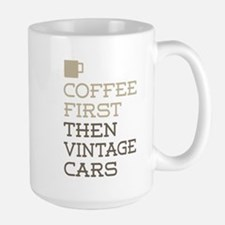 Coffee Then Vintage Cars Mugs