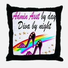 TOP ADMIN ASST Throw Pillow