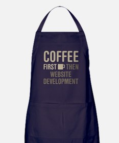 Website Development Apron (dark)