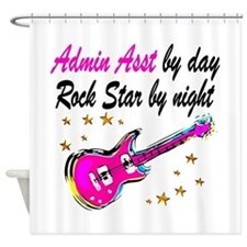 TOP ADMIN ASST Shower Curtain