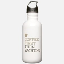 Coffee Then Yachting Water Bottle
