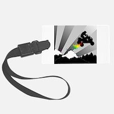 atv rainbow dirt trail Luggage Tag