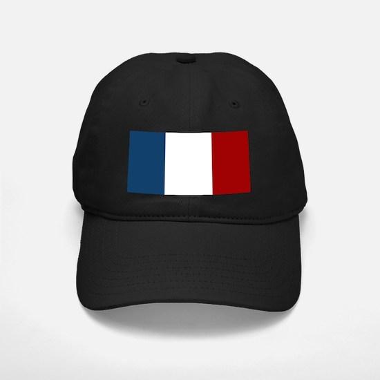 French Flag Baseball Hat