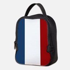 French Flag Neoprene Lunch Bag