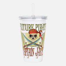 Captain Jake Pirate Gi Acrylic Double-wall Tumbler