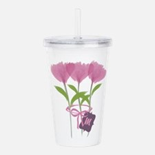Cool Bright Monogram Acrylic Double-wall Tumbler