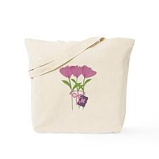 Cool Bright Monogram Tote Bag