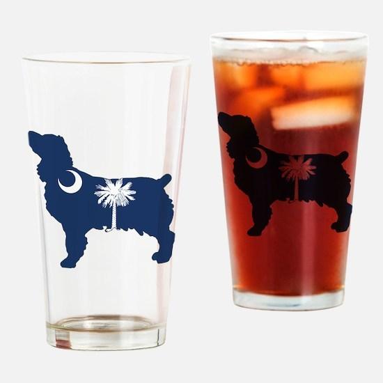 SC Boykin Spaniel Drinking Glass