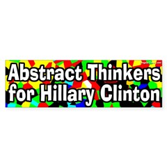 Abstract Thinkers for Hillary Clinton