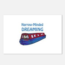 NARROW MINDED DREAMING Postcards (Package of 8)