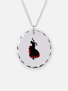 FLAMINCO DANCER Necklace