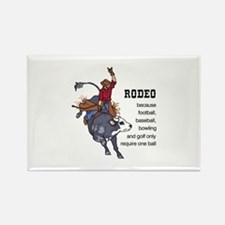 RODEO REQUIRES TWO Magnets