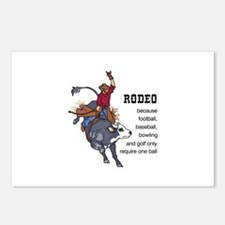 RODEO REQUIRES TWO Postcards (Package of 8)