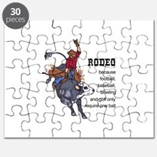 RODEO REQUIRES TWO Puzzle