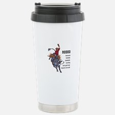 RODEO REQUIRES TWO Travel Mug