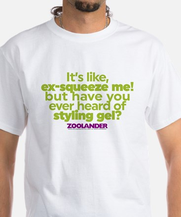Ex-Squeeze Me White T-Shirt