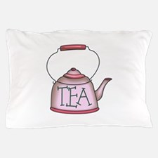 OLD TIME TEA KETTLE Pillow Case