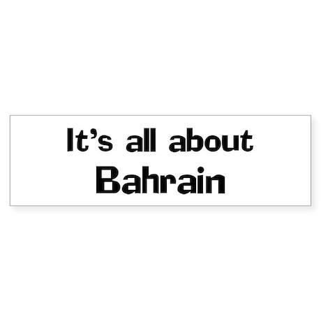 About Bahrain Bumper Sticker