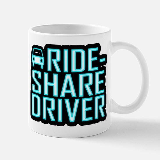 Ride Share Driver Rideshare Driving Mugs