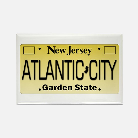 Atlantic City NJ Tag Giftware Magnets