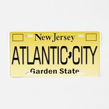 Atlantic City NJ Tag Giftwa Aluminum License Plate