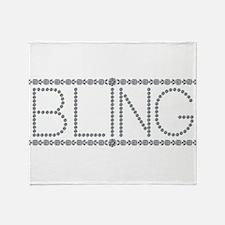 Bling!!! Throw Blanket