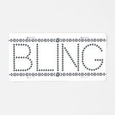 Bling!!! Aluminum License Plate