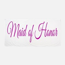 Maid of Honor Beach Towel