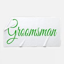 Groomsman Beach Towel