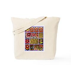 Sandi's Wedding Quilt Tote Bag