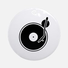 Vinyl Round Ornament