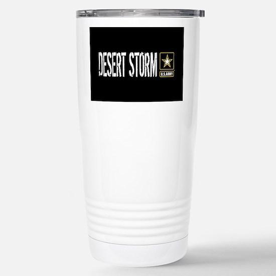 U.S. Army: Desert Storm Stainless Steel Travel Mug