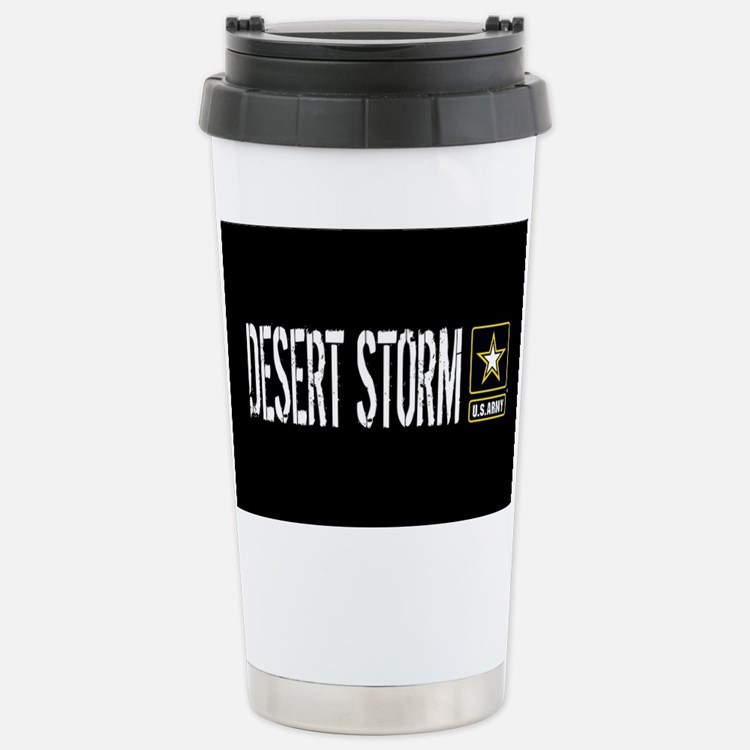 U.S. Army: Desert Storm Stainless Steel Travel Mug