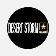 "U.S. Army: Desert Storm (Bl 3.5"" Button (100 pack)"