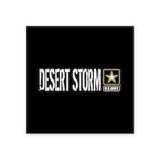 "U.S. Army Desert Storm Square Sticker 3"" x 3"""