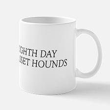 8TH DAY Basset Mug