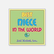 Best Niece and Modest Sticker